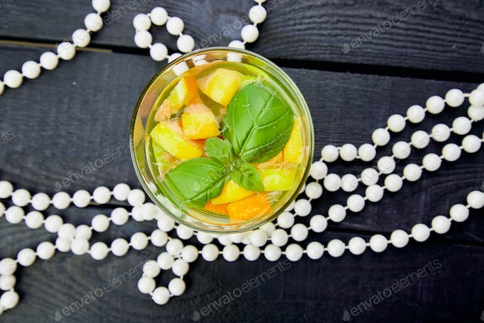 Fresh Detox water with citrus
