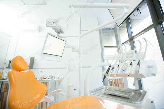 Ausrüstung für die Zahnheilkunde