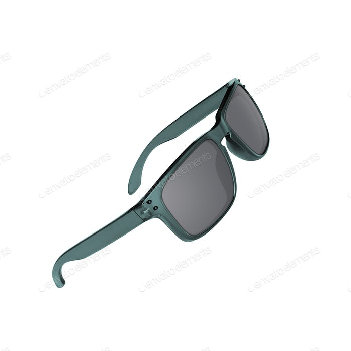 Sun glasses isolated over the white background