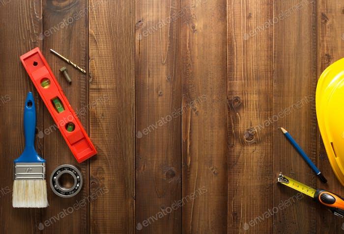 herramientas de Construcción en madera