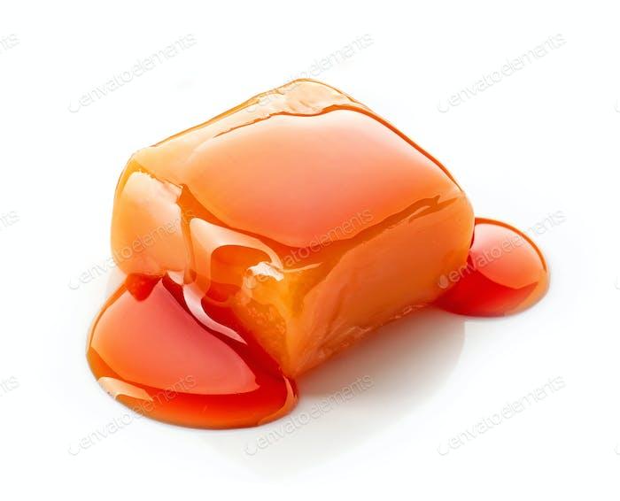 caramel candy and sauce
