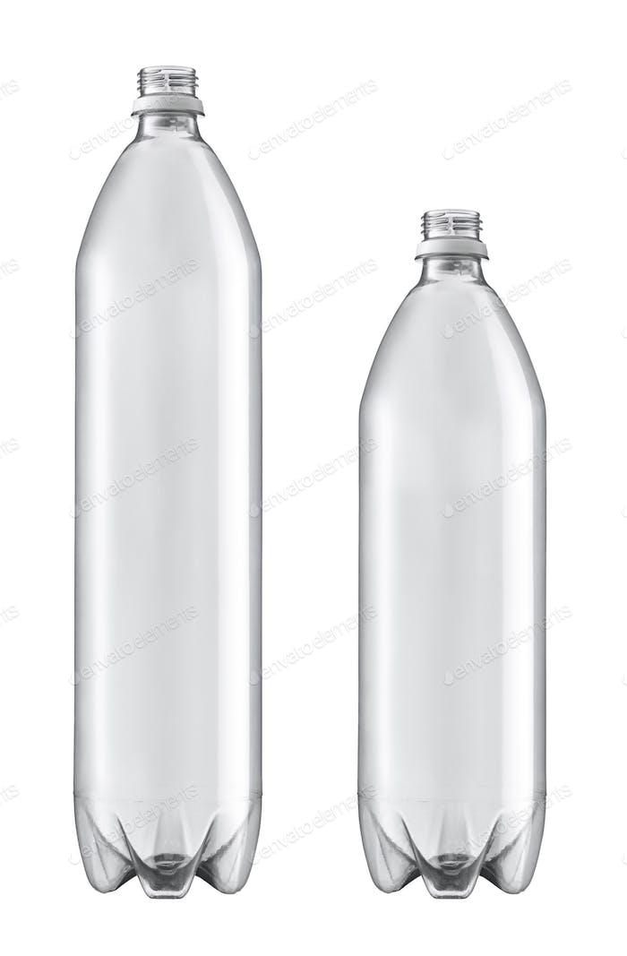 Kunststoffflasche isoliert