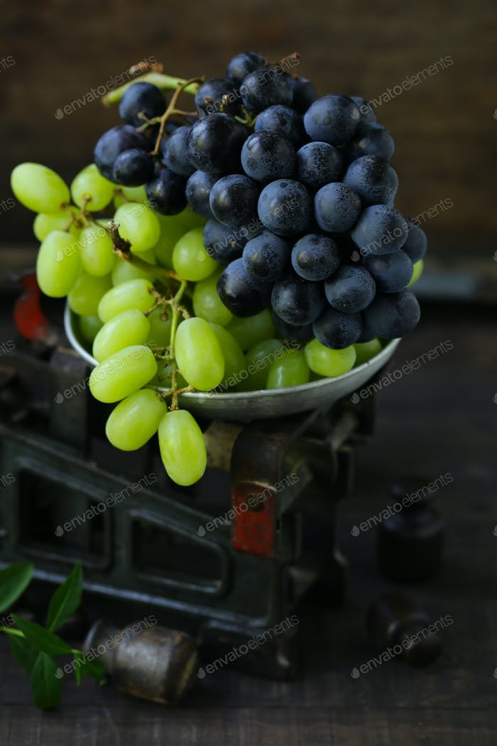 Organic Ripe Grapes