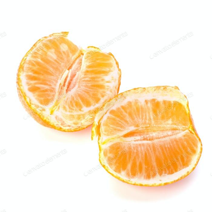 Ripe tasty tangerines