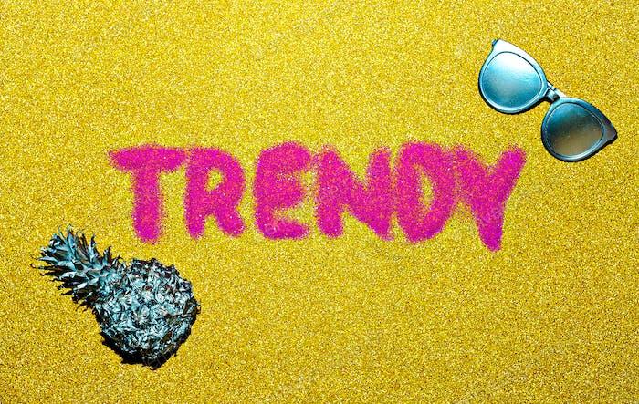 Trend set minimal design fashion