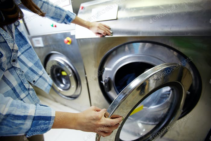 Process of washing clothes