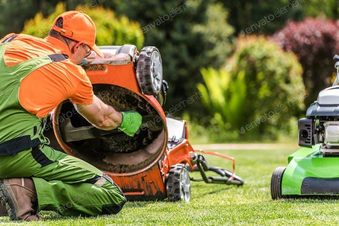 Grass Mower Problem