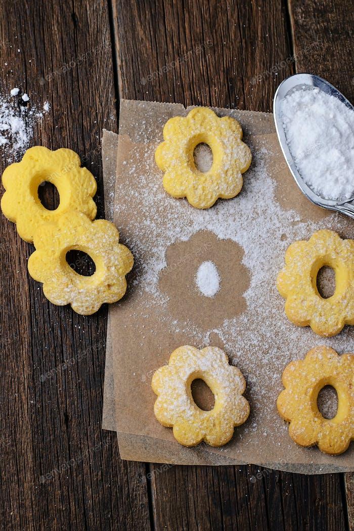 Süße Butterkekse