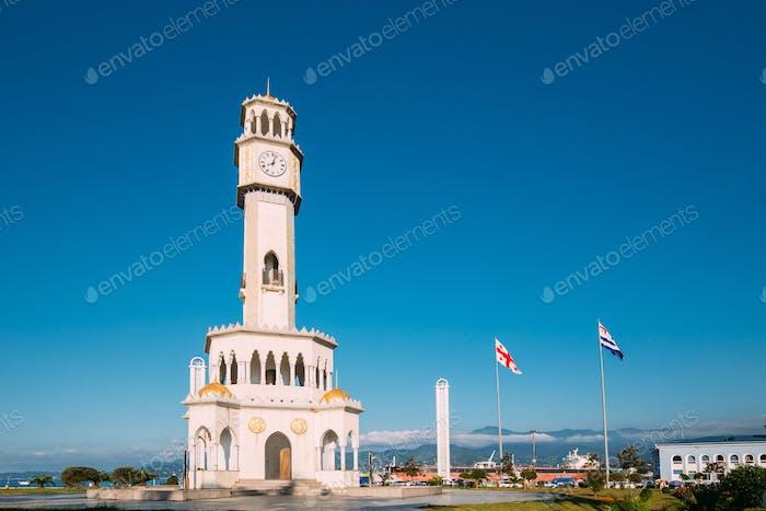 Batumi, Adjara, Georgia. Chacha Tower Is Local Landmark Attracti