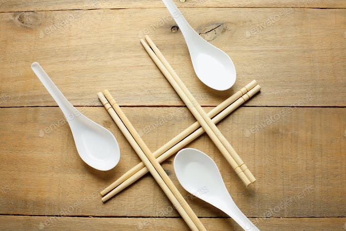 Chopsticks and Spoons