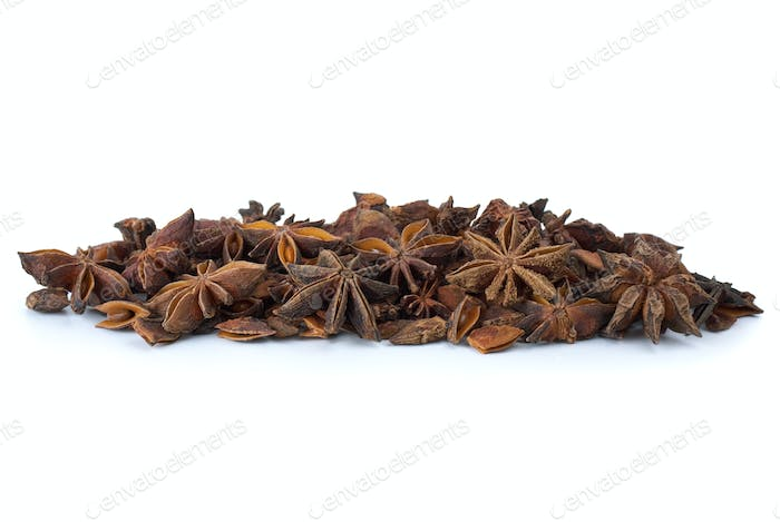 Spices: Dried-up anise-tree inflorescences