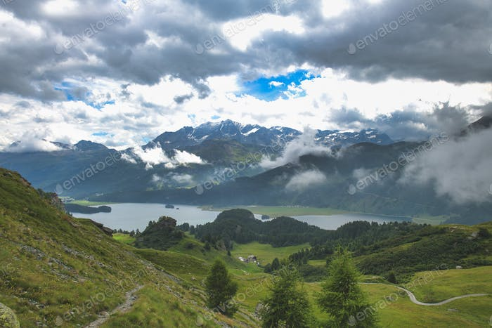 Landscape on the Swiss Alp