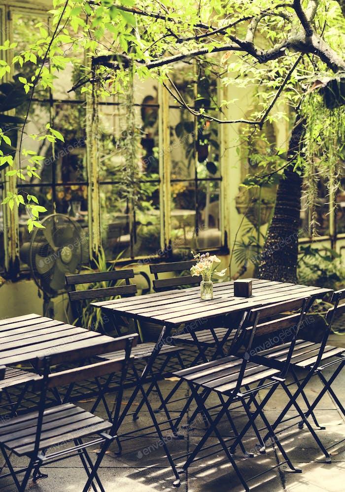 Ein Relax-Café
