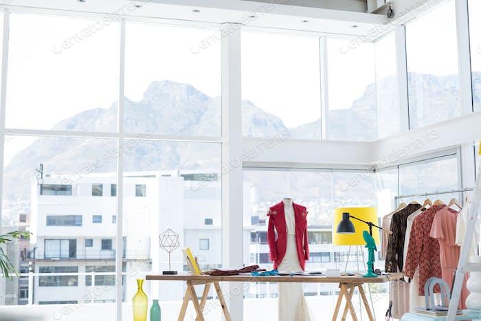Interior of fashion designer