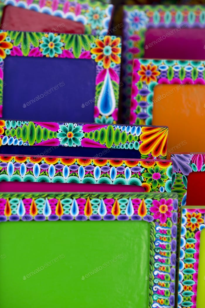 Colored frames on sale, Ecuador photo by piccaya on Envato Elements