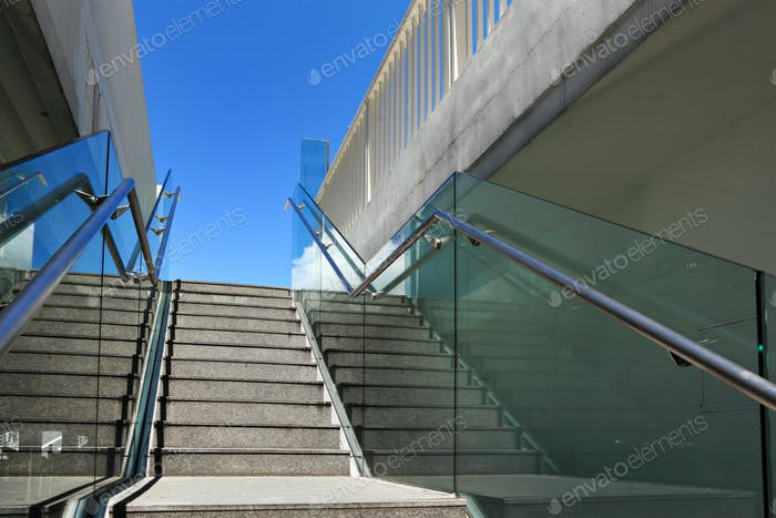 Staircase at outdoor