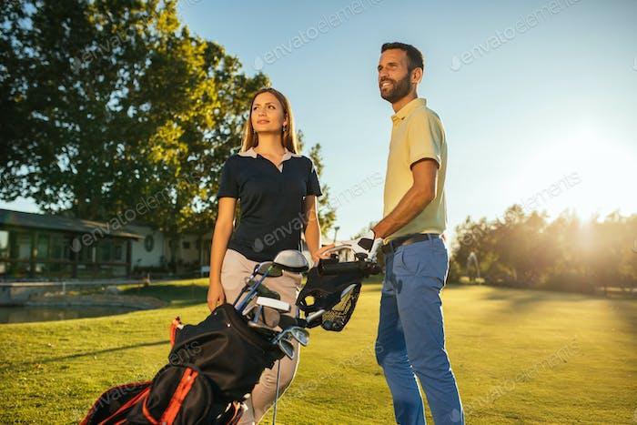 Golf is a great getaway