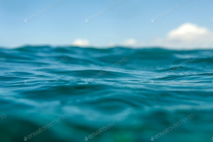 Water bokeh background