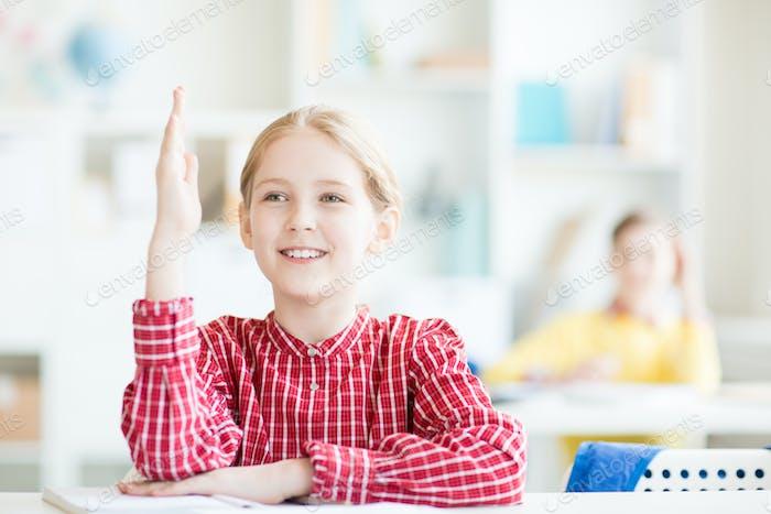 Secondary schoolgirl