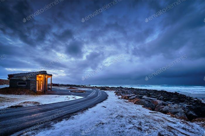 Coast of Norwegian sea
