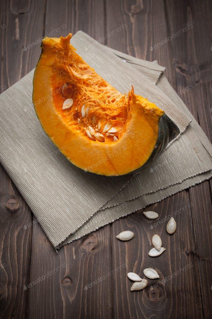 Pumpkin slice