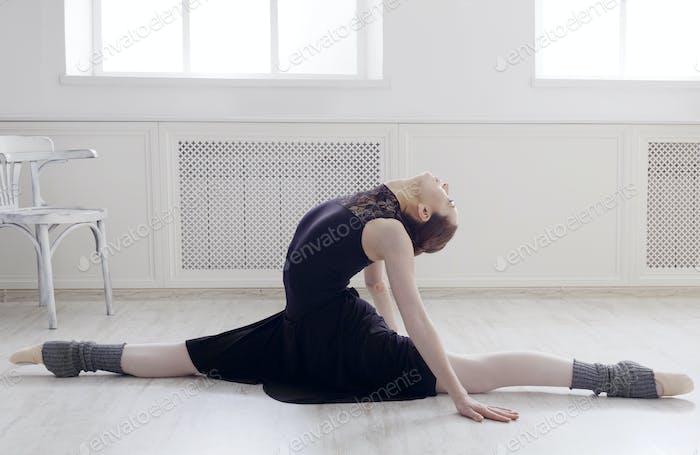 Classical Ballet dancer portrait