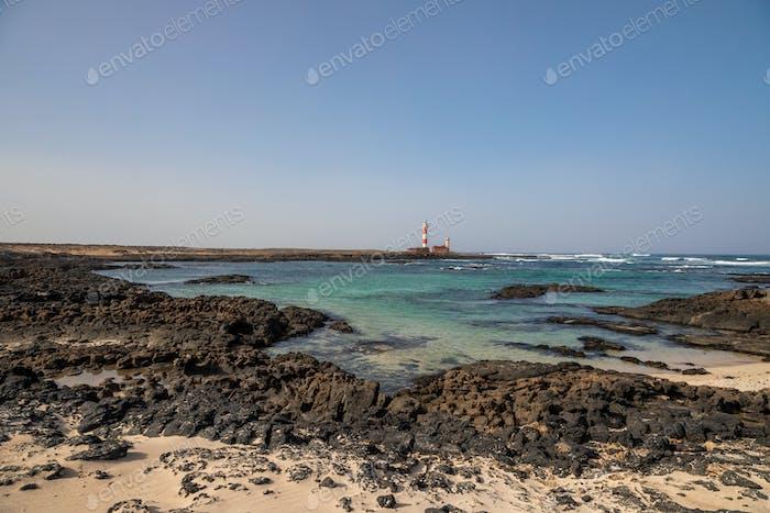 Lighthouse Beach North-shore Coastline Fuerteventura