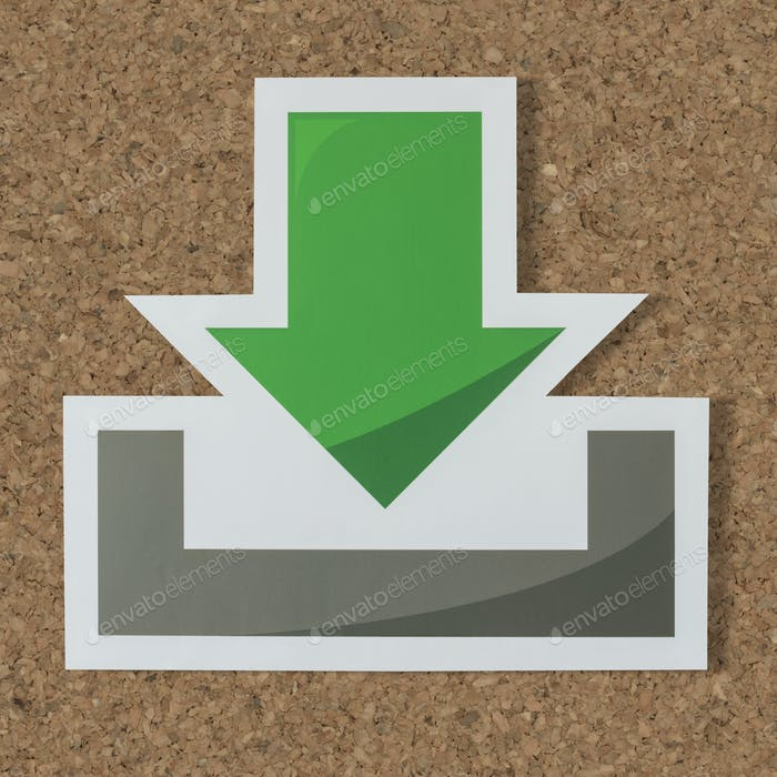 Download computer technology icon symbol