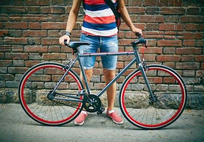 Bicycle of sportsman