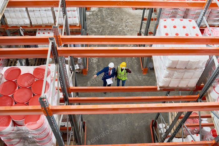Warehouse Inspection Top View
