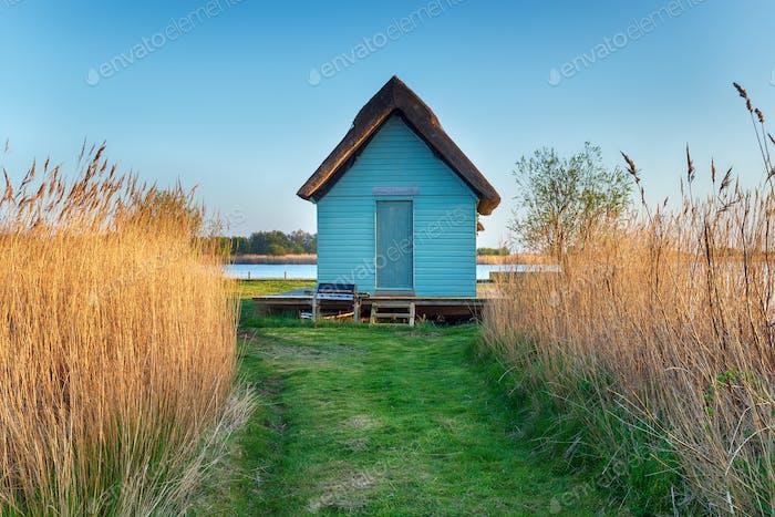 Norfolk Broads boat House