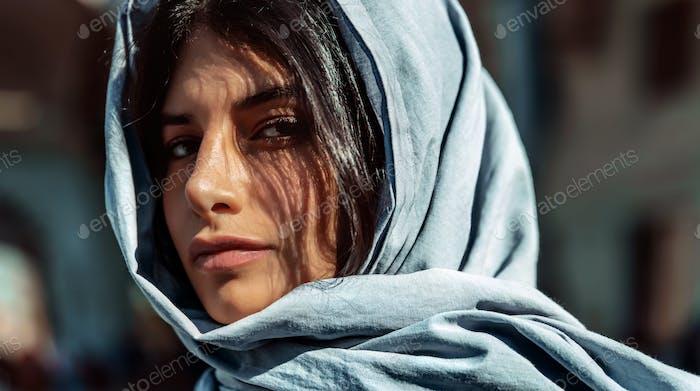 Gorgeous arabian girl