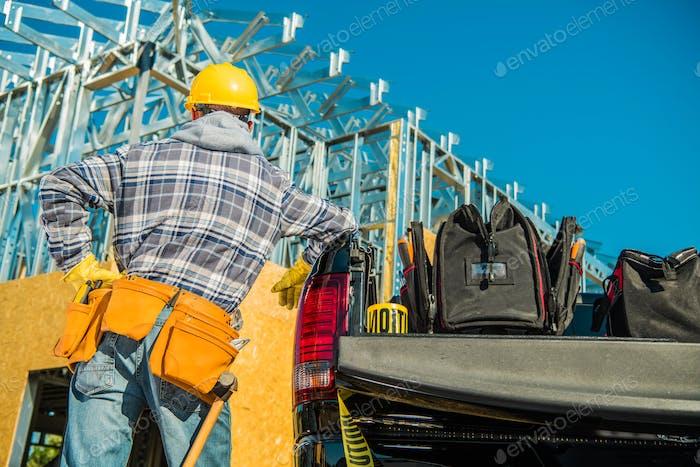 Bauunternehmer Job