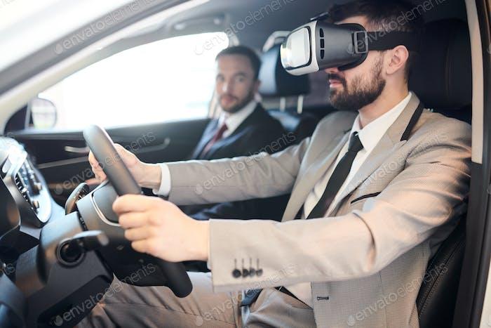 VR-Testantrieb
