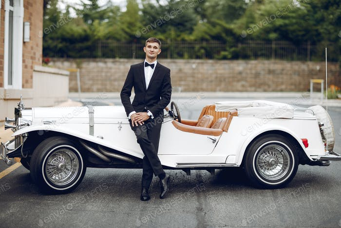 Groom near car
