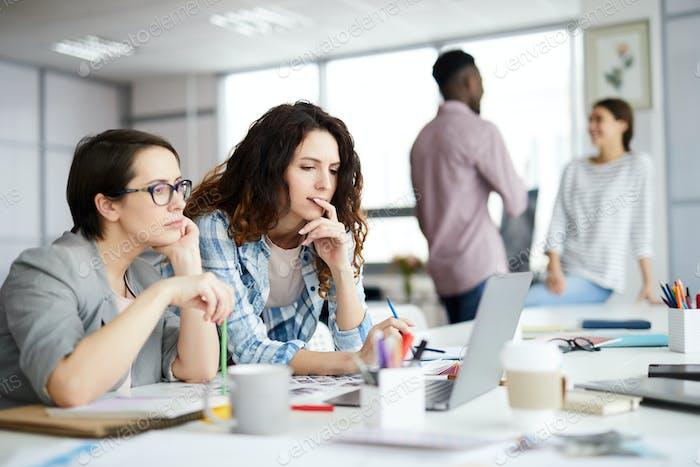 Contemporary Businesswomen at Work