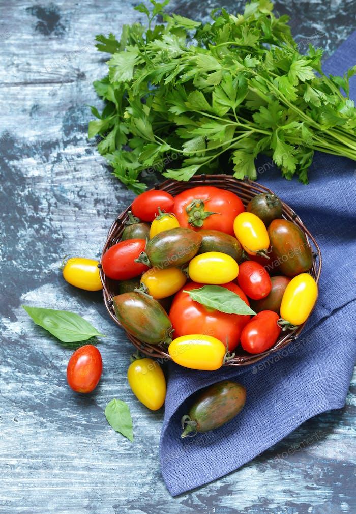 Ripe Organic Tomatoes