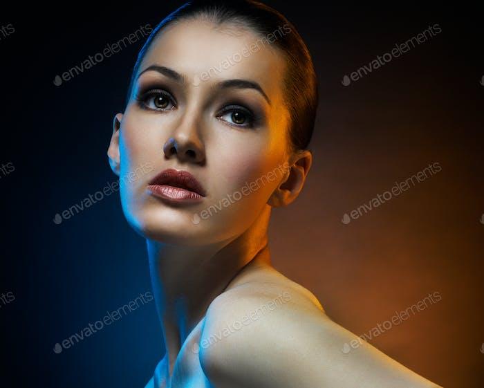 портрет красоты