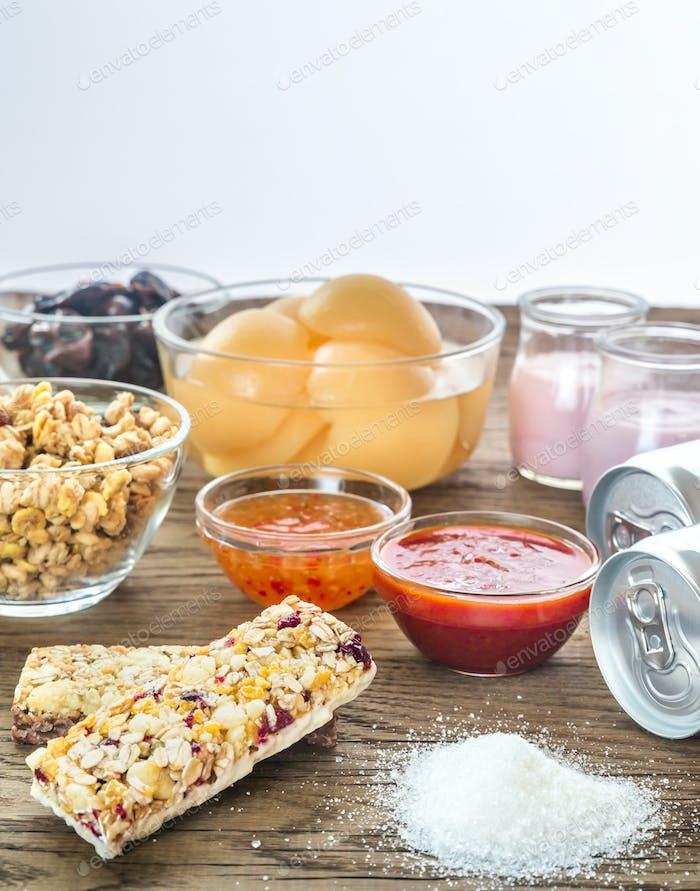 Foods with hidden sugar