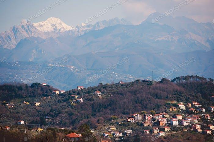 Italienische Region Ligurien