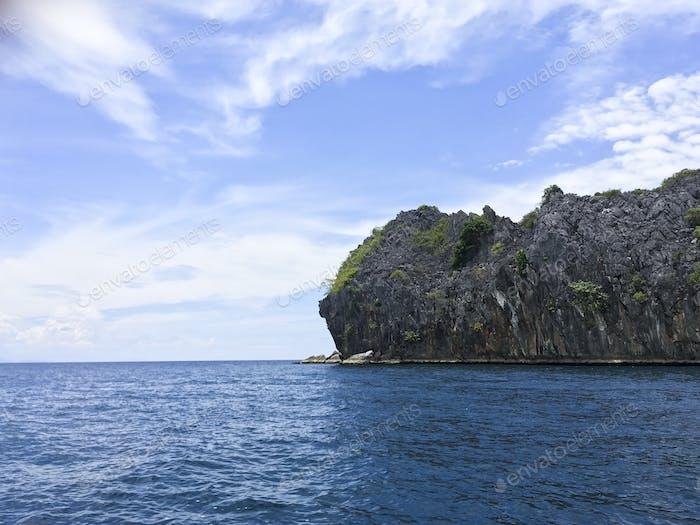 schöne Form Insel auf der schönen Andamanensee