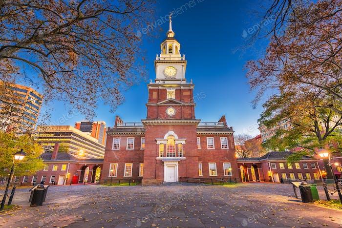 Independence Hall in Philadelphia