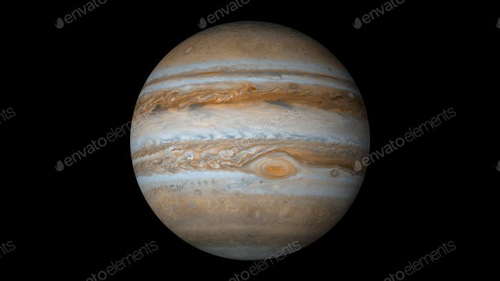 jupiter black background
