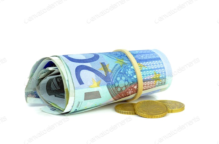 A Roll of Banknotes