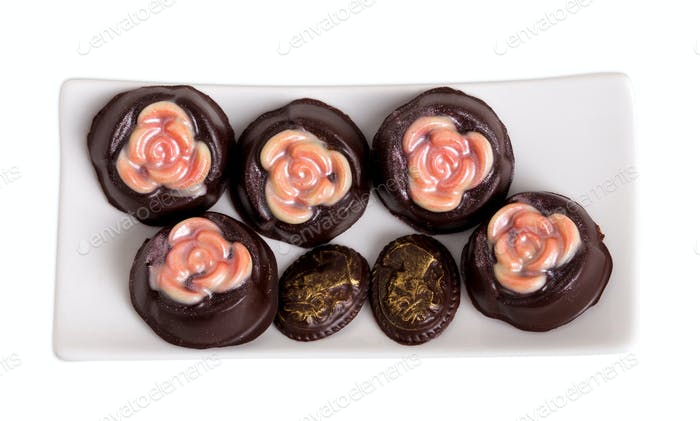 Delicious chocolate candies.