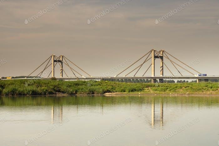View at a bridge