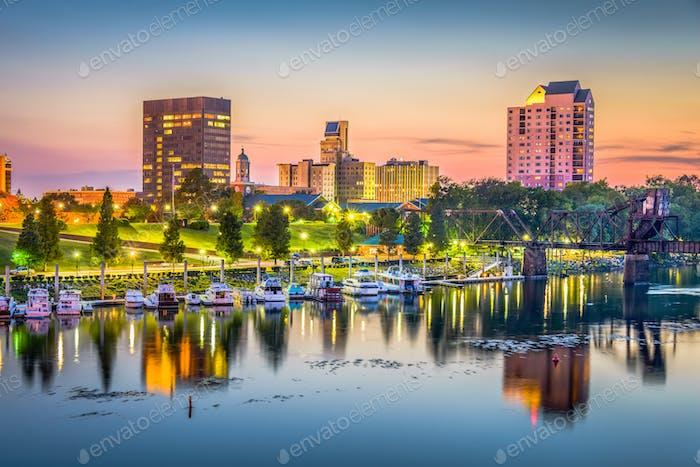 Augusta, Georgia, USA skyline