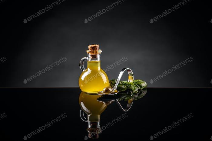 Still life of olive