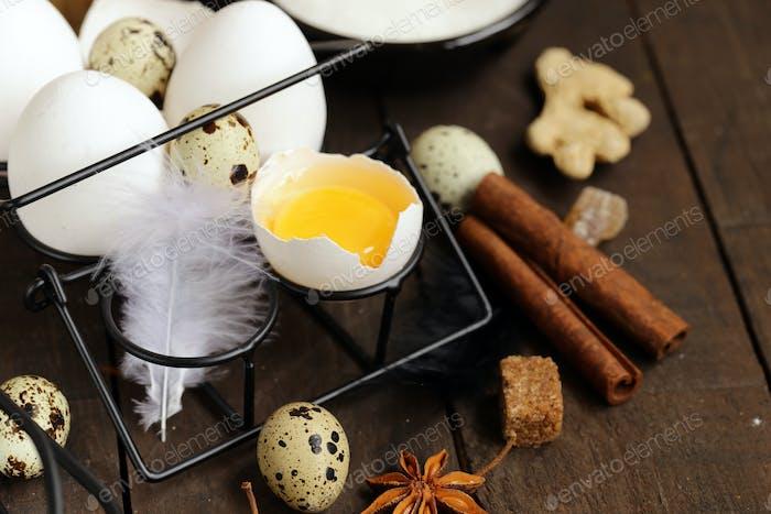 Bio Natürliche Eier