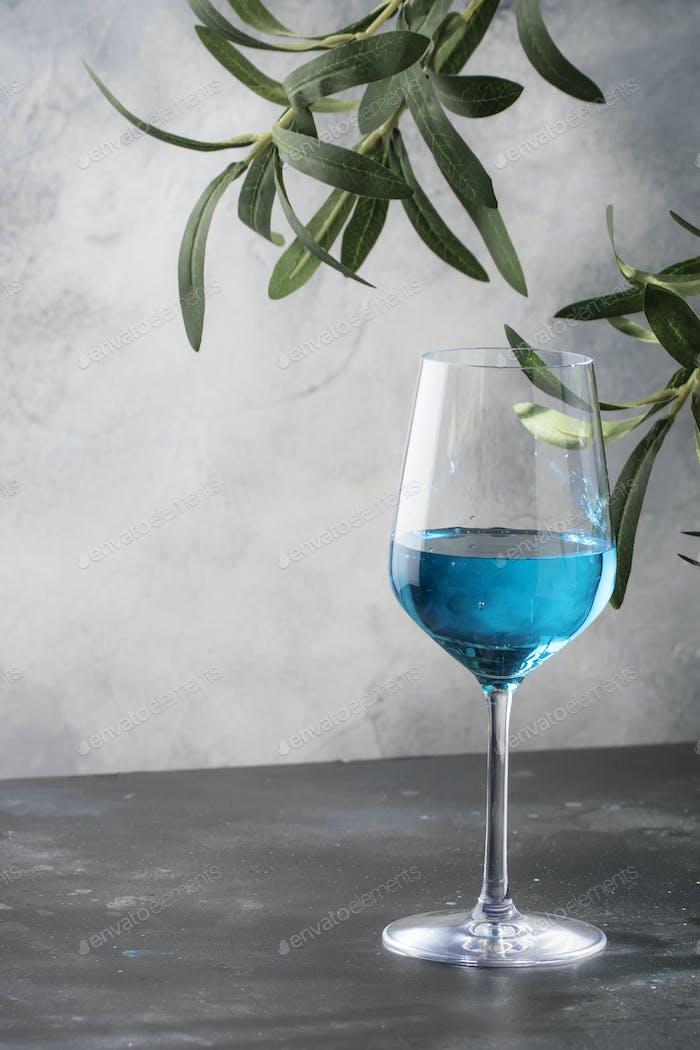 Exotischer Blauwein